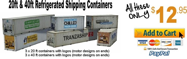 buy shipping container models