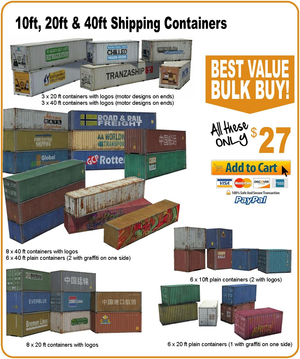 buy intermodal containers