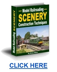 how to make model railroad scenery